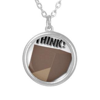 Think outside the box! pendant