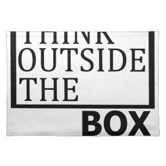 Think Outside The Box Placemat