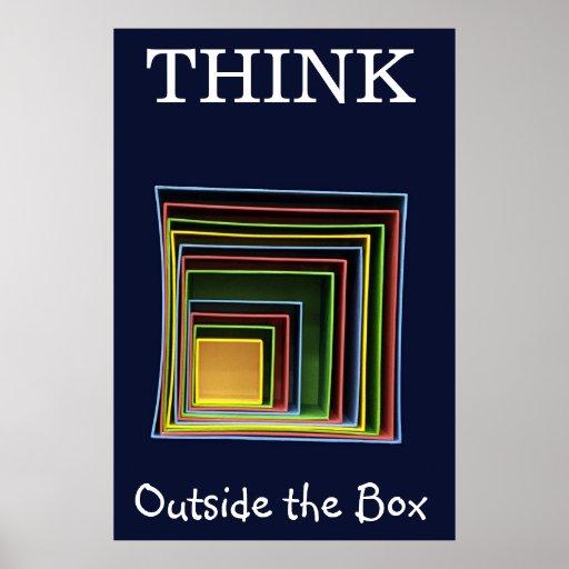 Think Outside the Box Print