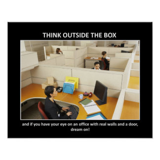 think-outside-the-box poster