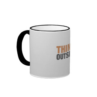 Think outside the Box Ringer Mug