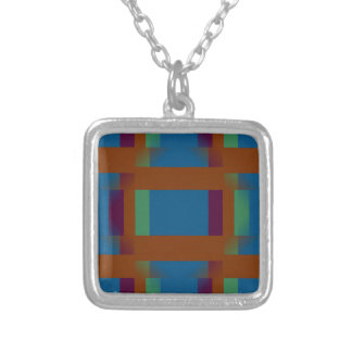 Think Outside the Box Square Pendant Necklace