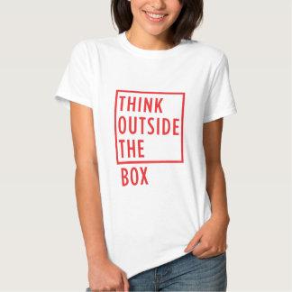 Think Outside the Box T-shirt Women's