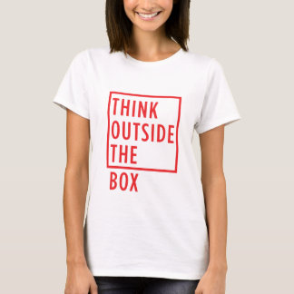 Think Outside the Box T-shirt Women's