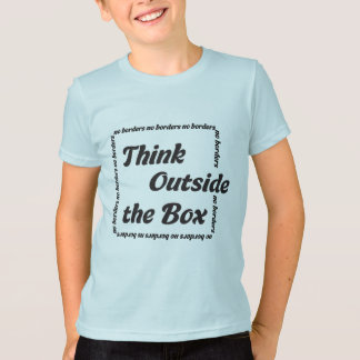 Think outside the box tee shirt