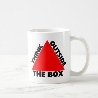 Think Outside The Box With Triangle Coffee Mug