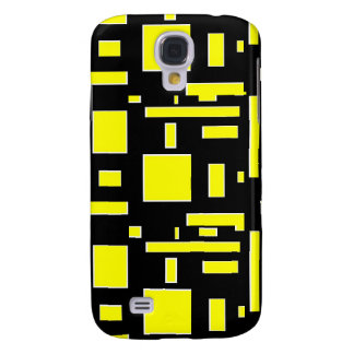 Think outside the boxes (yellow) samsung galaxy s4 case