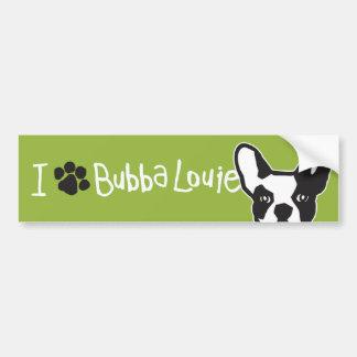 Think Pawsitive Bubba Bumper Sticker