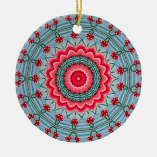 Think Pink Christmas Ornament