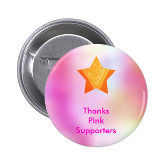 Think Pink - Support Cancer Research Buttons