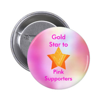 Think Pink - Support Cancer Research 6 Cm Round Badge