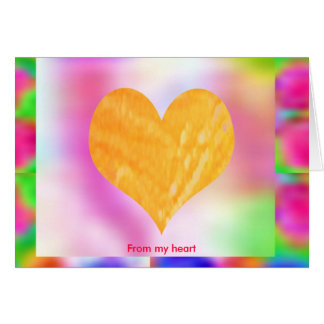 Think Pink - Support Cancer Research Greeting Card