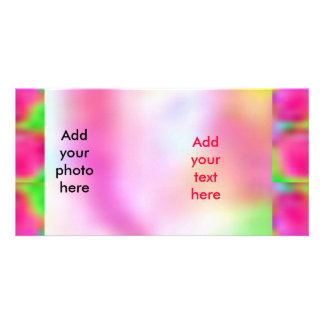 Think Pink - Support Cancer Research Customized Photo Card