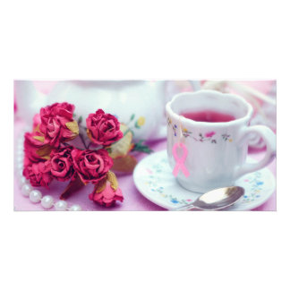 Think Pink Tea Photo Cards