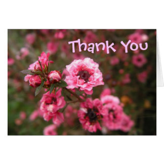 Think Pink Thank You Card