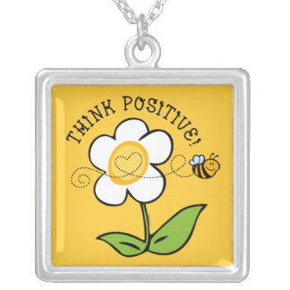 Think Positive Bee TTC Necklace