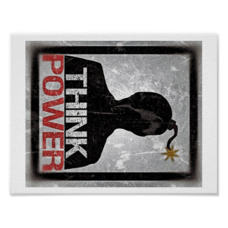 Think Power Poster