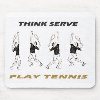 Think Serve Mouse Pad
