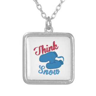 Think Snow Mittens Necklaces