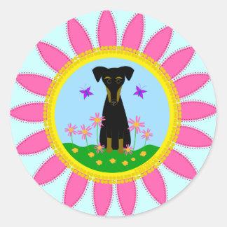 Think Spring! Classic Round Sticker