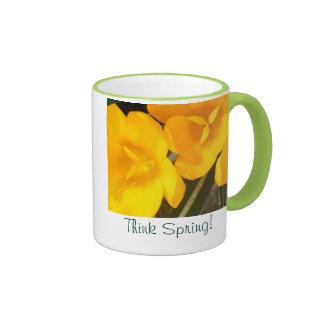 Think Spring Coffee Cup Coffee Mug