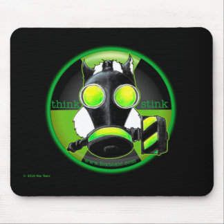 Think Stink Toxic Skunk Mousepad