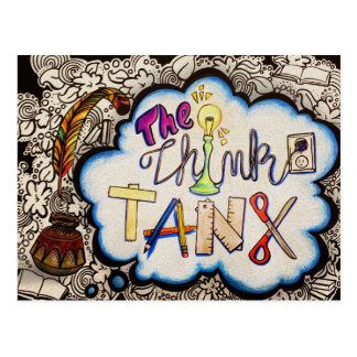 Think Tank Note Cards Postcard