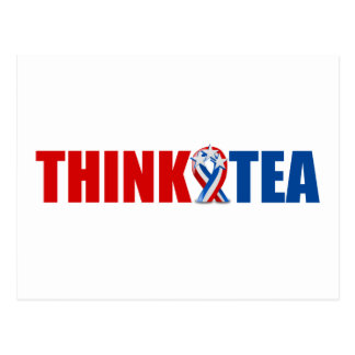 Think Tea Postcard