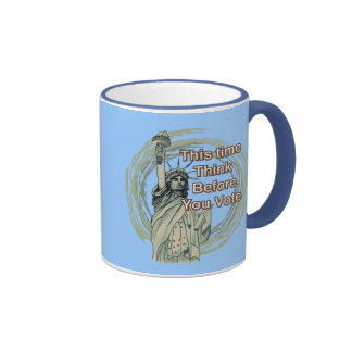 Think Vote Liberty Mug