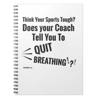 Think Your Sports Hard? Notebook