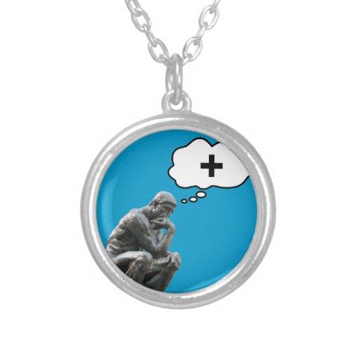 Thinker Statue - Think Positive Custom Jewelry