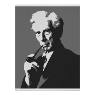 Thinkers - Bertrand Russell Poster