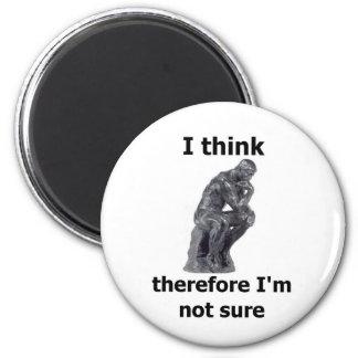 ThinkerWare 6 Cm Round Magnet