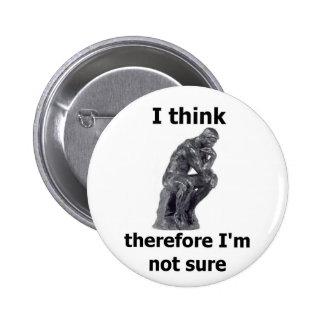 ThinkerWare Pinback Buttons