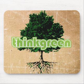thinkgreen mousepad