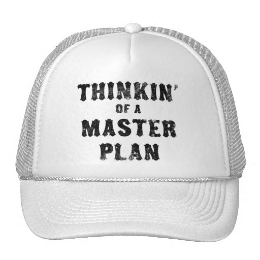 Thinkin' of a Master Plan Hats