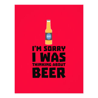 Thinking about Beer bottle Z860x 21.5 Cm X 28 Cm Flyer