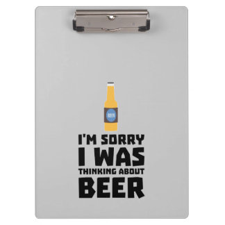 Thinking about Beer bottle Z860x Clipboard