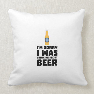 Thinking about Beer bottle Z860x Cushion