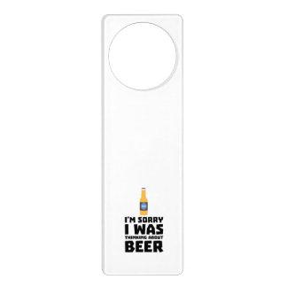 Thinking about Beer bottle Z860x Door Hanger