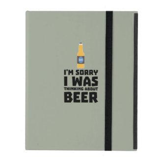 Thinking about Beer bottle Z860x iPad Folio Case