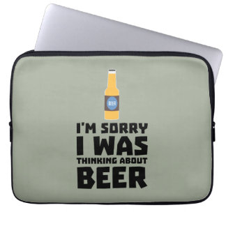Thinking about Beer bottle Z860x Laptop Computer Sleeves