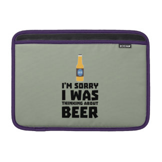 Thinking about Beer bottle Z860x MacBook Sleeve