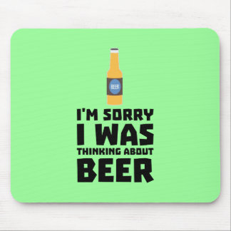 Thinking about Beer bottle Z860x Mouse Pad
