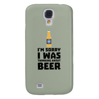 Thinking about Beer bottle Z860x Samsung Galaxy S4 Cover