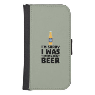 Thinking about Beer bottle Z860x Samsung S4 Wallet Case