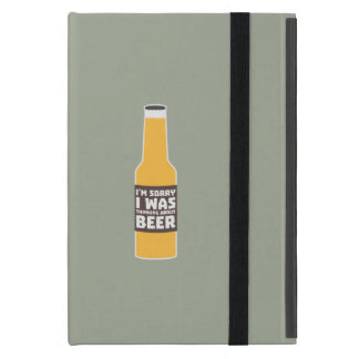 Thinking about Beer bottle Zjz0m Cover For iPad Mini