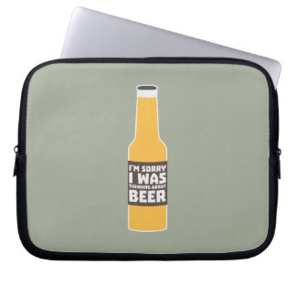 Thinking about Beer bottle Zjz0m Laptop Sleeve