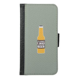 Thinking about Beer bottle Zjz0m Samsung Galaxy S6 Wallet Case