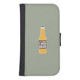 Thinking about Beer bottle Zjz0m Samsung S4 Wallet Case